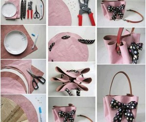 accessories, bow, and polka-dot image