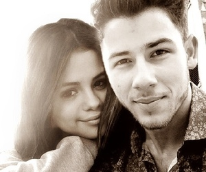 selena gomez, nick jonas, and nelena image