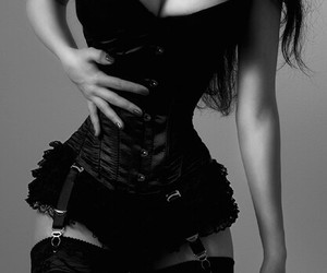 black and corset image