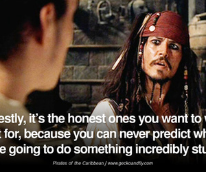 pirates of the caribbean and jack sparrow image