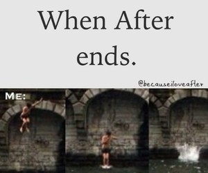 after, fanfiction, and indiana evans image