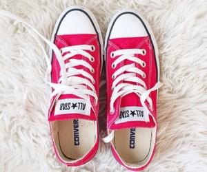 converse, pink, and all☆star image