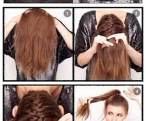 beuty, hair, and pretty image