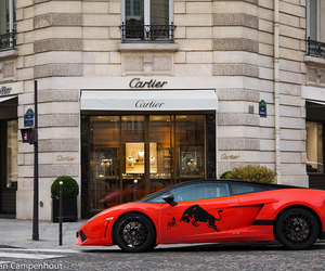 car, red, and cartier image