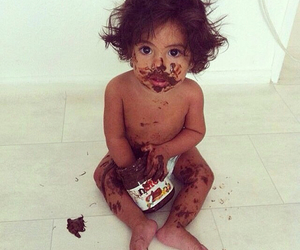 nutella, baby, and cute image