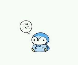 cute, fat, and blue image