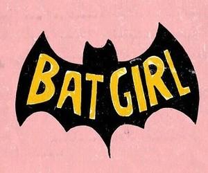 batgirl, batman, and black image
