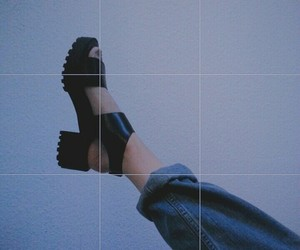 fashion, grunge, and shoes image