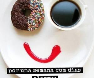 cafe, sorrisos, and bolacha image