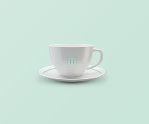 blue, coffeecup, and cool image