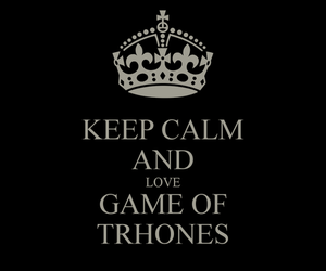 black, white, and game of thrones image