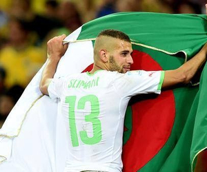 Algeria, respect, and world cup image