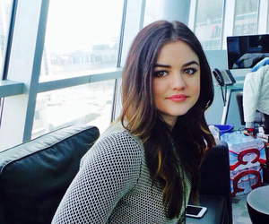smile, lucy hale, and pretty little liars image