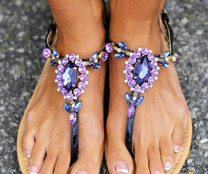 shoes, sandals, and summer image
