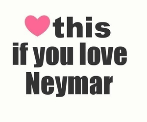 neymar and heart image