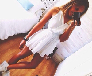 dress, fitness, and summer image