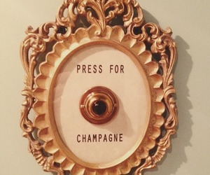 champagne, button, and drink image