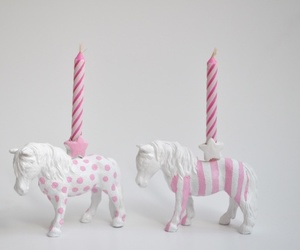 horse, candle, and diy image