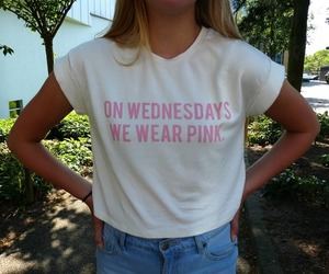 mean girls, pink, and tumblr image