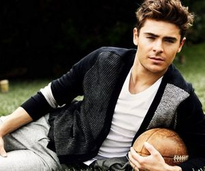 boy, football, and zac efron image