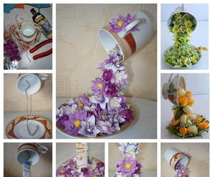 diy, flower, and home docor image