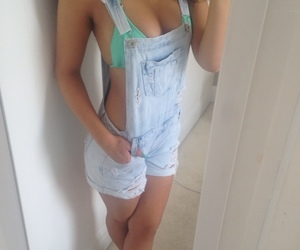 bikini, fitness, and outfit image