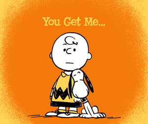 snoopy, charlie brown, and forever image