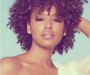 beauty, curly, and gold image