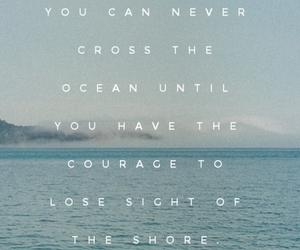 courage, life, and ocean image