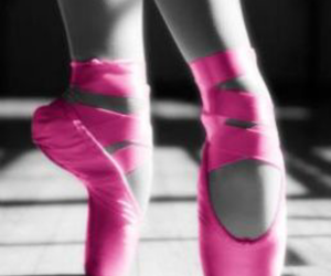 ballet, dance, and hot pink image