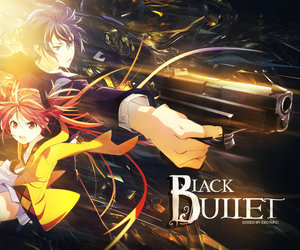 anime, black bullet, and enju image