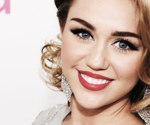 miley cyrus, miley, and smile image