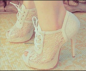 beutiful, slippers, and white image