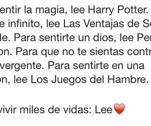 harry potter, lee, and divergente image