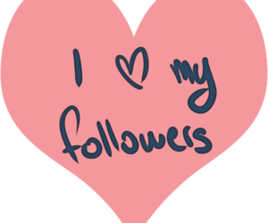 love my followers and cuz they follow me! image