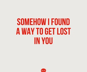in, lost, and Lyrics image