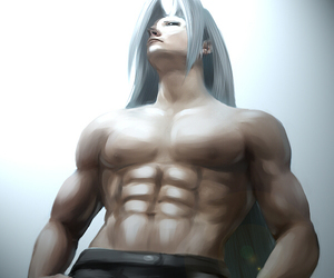 3d, final fantasy, and Sephiroth image
