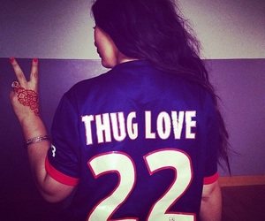 love, thug, and thug love image