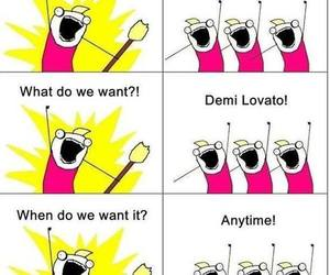 demi lovato, want, and lovatics image