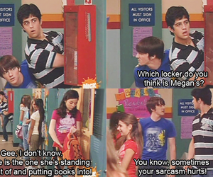 drake and josh, funny, and sarcasm image