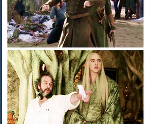 Legolas, funny, and thranduil image