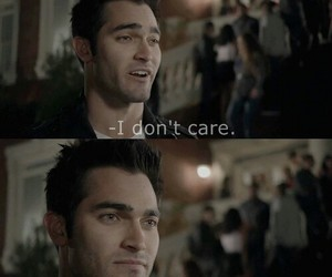 teen wolf and derek hale image