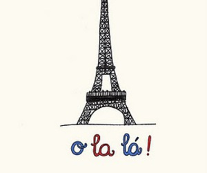 paris, france, and o la la image