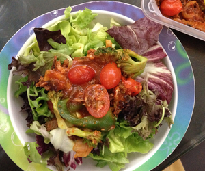 colorful, salad, and colors image