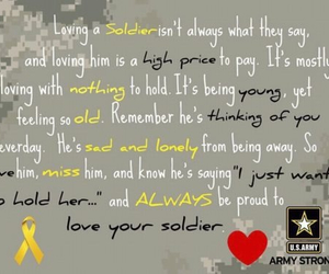 army, military love, and military relationship image