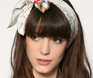 girl, hair, and fashion style image