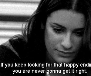 glee, quote, and lea michele image