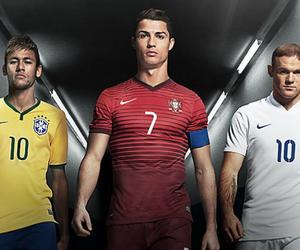 neymar, Ronaldo, and cr7 image