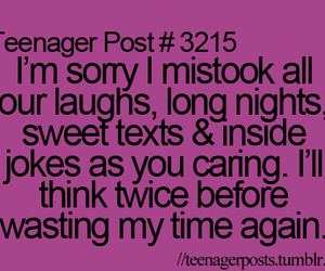 sorry, teenager post, and love image