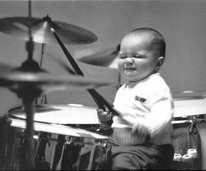 baby, Dream, and drums image